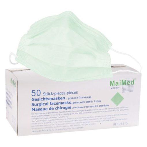 MaiMed - Gesichtsmaske/Face Mask grün/ green