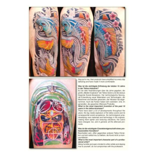 Asia-Style-Tattoo Sketchbook