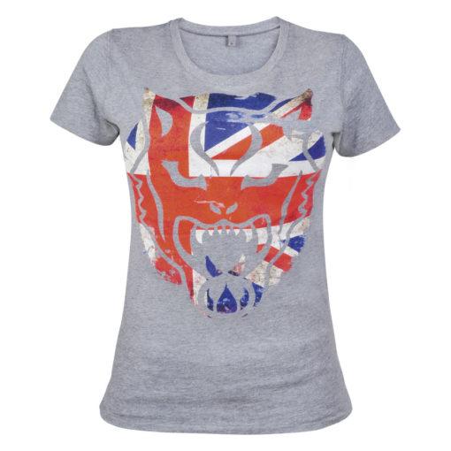"""Wildcat® Highline® Vintage Girlie-Shirt """"UK Print"""""""