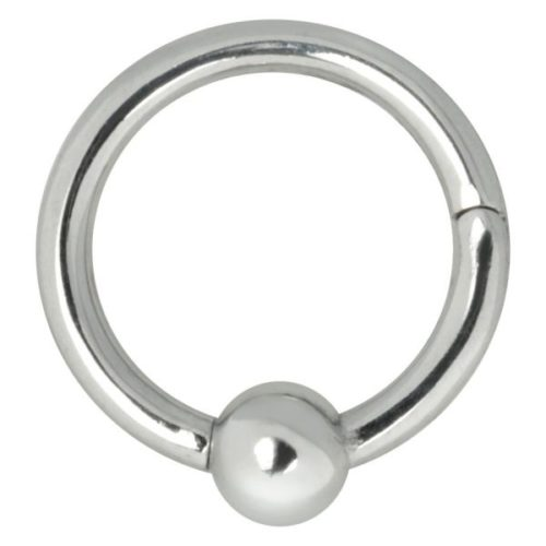 Steel Basicline® Ball Closure Ring Clicker