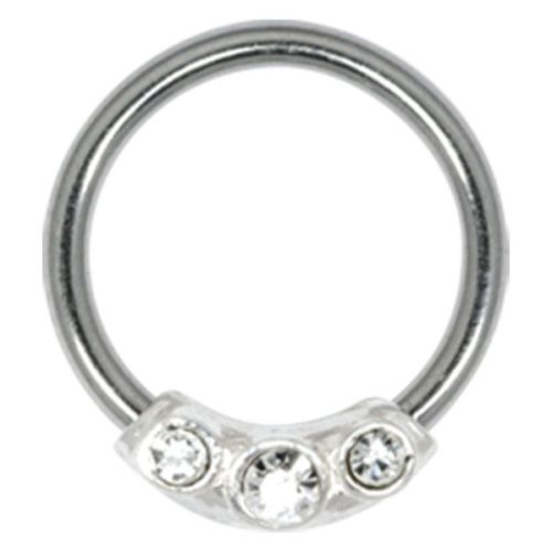 Steel Basicline® Closure Ring Silver Jewels