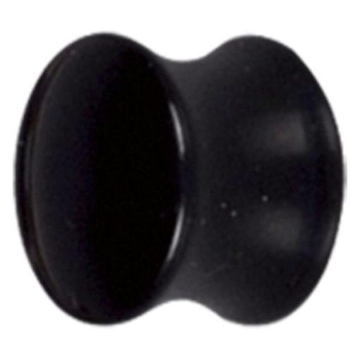 Black Acryl Flared Plug