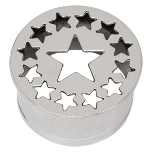 Steel Basicline® Impression Eyelet Star and Stars