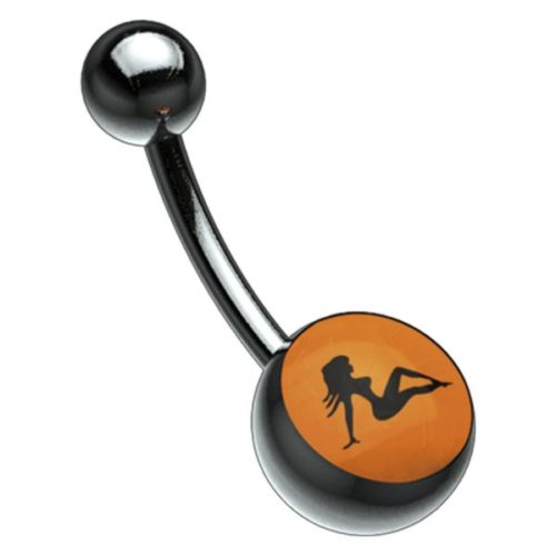 Titan Blackline® Picturebell Truckin Black/Orange