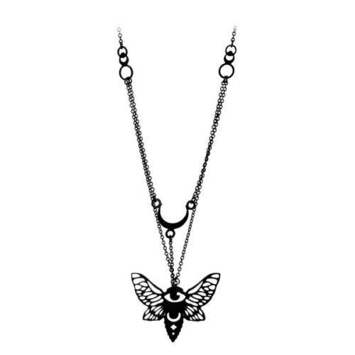 Mystic Moth Necklace