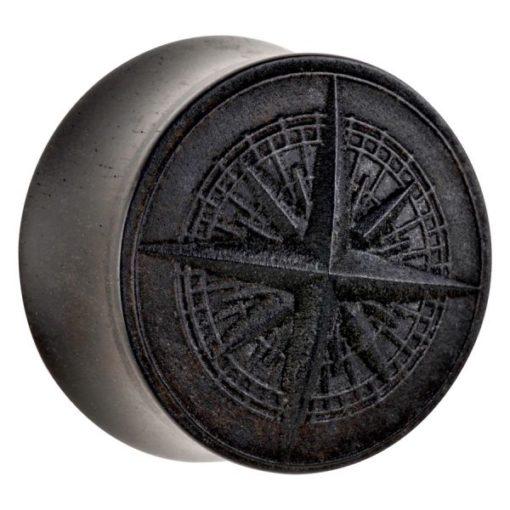 Organic® Compass on Ebony Wood