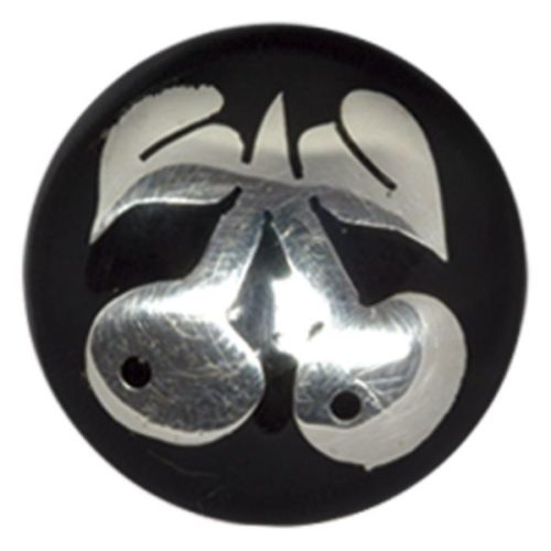Buffalo Horn Silver Cherries Plug
