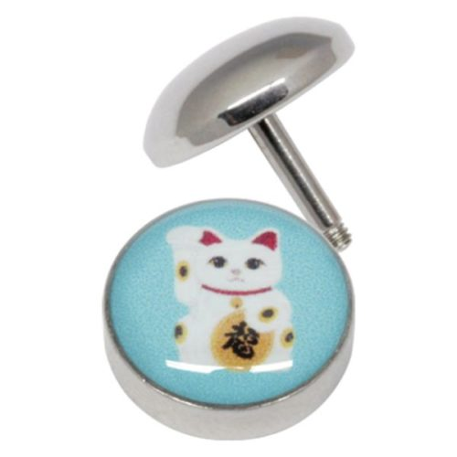 Lucky Cat Fake Plug