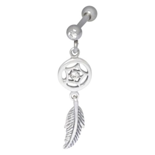 Ear Dreamcatcher Silver