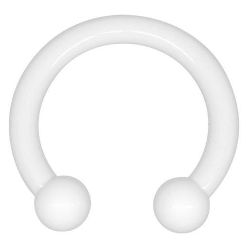 Arcylic White Heat Ball Megacuff