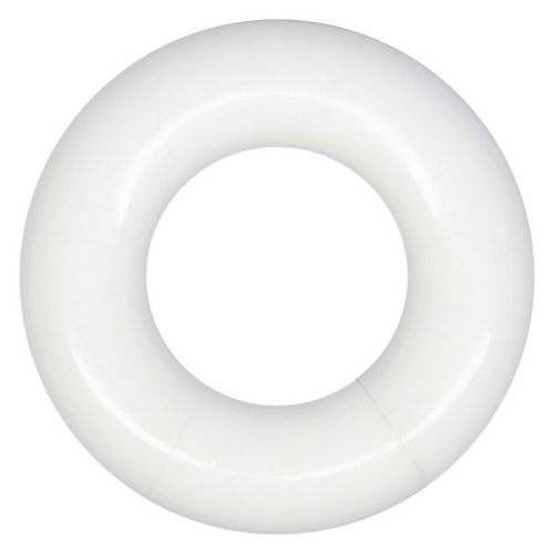 Arcylic White Heat Segment Ring