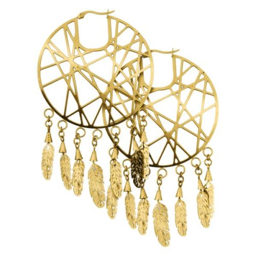 Steel Zirconline®- Dreamcatcher Gold