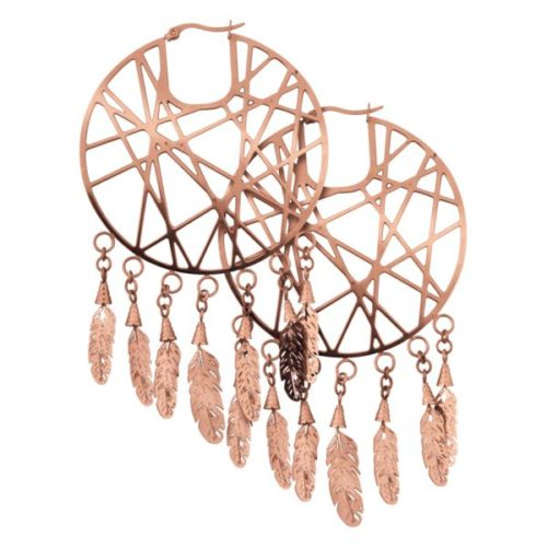 Dreamcatcher Hoops