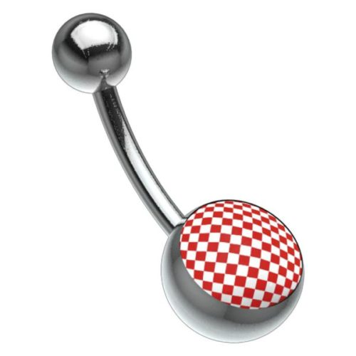 Titan Picturebell Chessboard Red/White