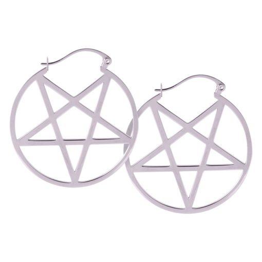 Mini Pentagram Hoops
